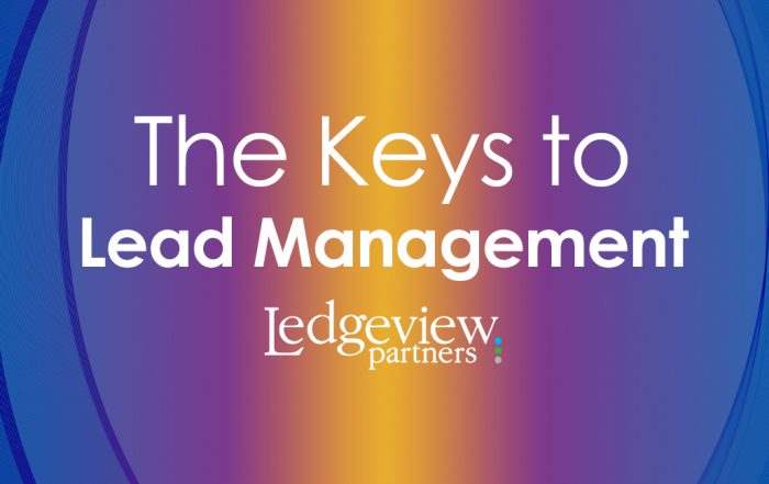 The Keys to Lead Management