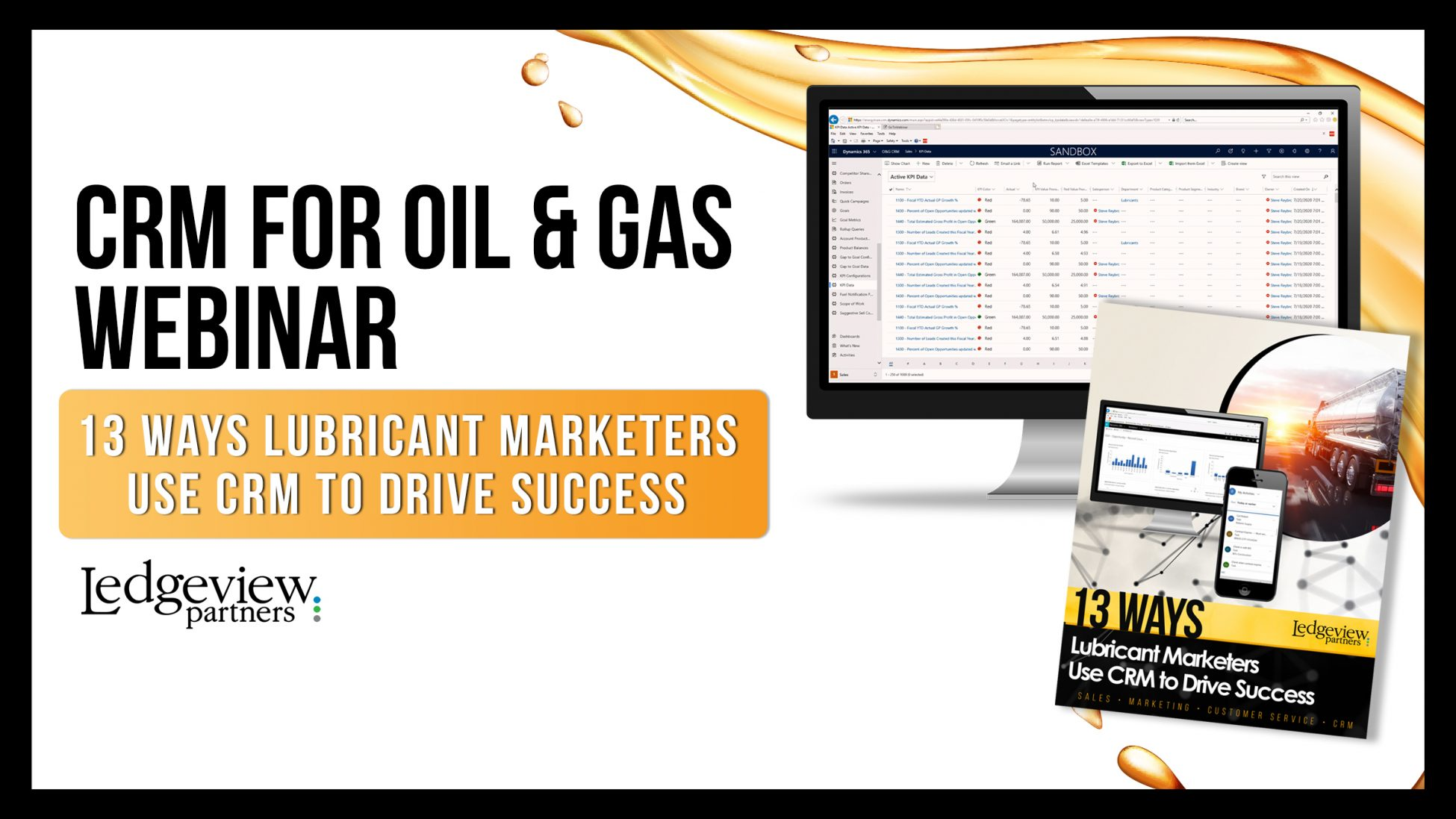 Webinar: 13 Ways Lubricant Marketers Use CRM to Drive Success CRMOG