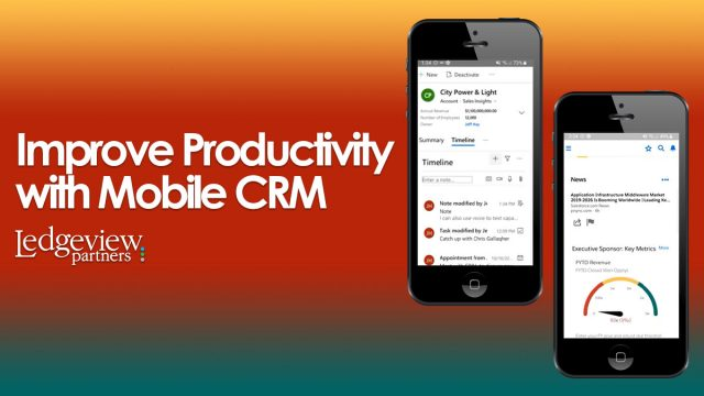 Improve Productivity with Mobile CRM