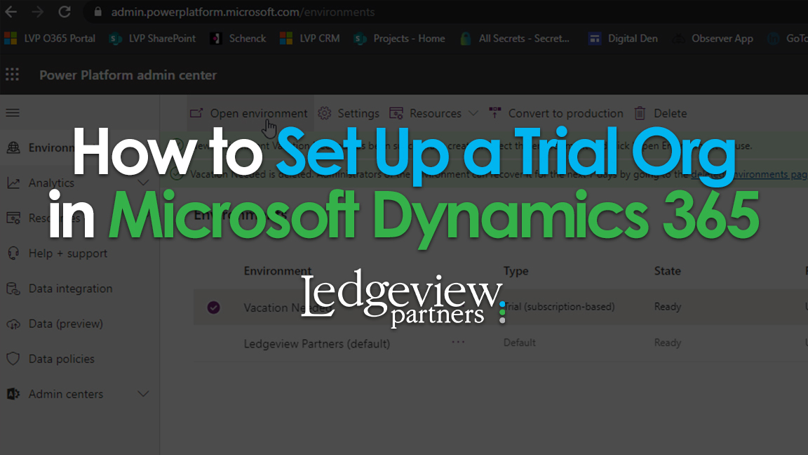 How to Set Up a Trial Org in Microsoft Dynamics 365